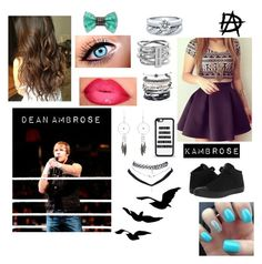 """In the ring with Dean"" by kambrose85 on Polyvore"