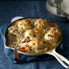 What's for dinner: Bacon cheddar pot pie