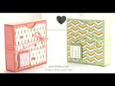 Fold Flat Box Tutorial for 3x3 Cards & Envelopes | Stampin' Up! UK Demonstrator Pootles!
