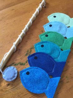 Toddler Educational Toys Magnet Felt Fishing Game Fishing | Etsy