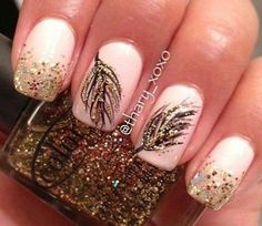 Feather Nails @Luuux