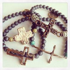 #Fitrou #ShopFitrou #Armcandy #Jewelry #Jewels1luv #Accessories #Bracelets #Crosses #Love