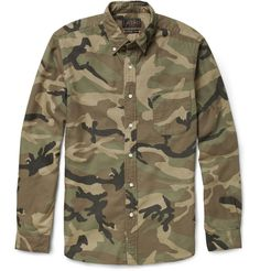 Beams Plus Camouflage-Print Cotton Shirt | MR PORTER