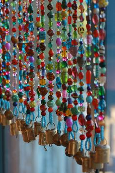 Bided curtain gorgeous spiritual hanging suncatcher-it is made of glass beads in…
