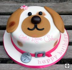 Exclusive Picture of Birthday Cake Dog . Birthday Cake Dog Little Love Cakes… Exclusive Picture of Birthday Cake Dog . Birthday Cake Dog Little Love Cakes Cute Dog Face Cake Pasteles En 2018 Cake Dog, Puppy Dog Cakes, Dog Cake Topper, Puppy Birthday Cakes, Themed Birthday Cakes, Puppy Birthday Parties, Puppy Party, Food Cakes, Cupcake Cakes