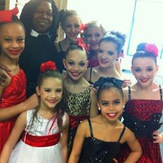 Dance moms on the view performing the last text!