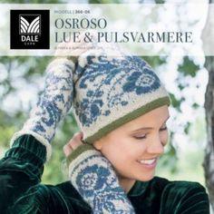 Ravelry: Osroso lue & pulsvarmere pattern by Iselin Hafseld Knit Mittens, Knitted Hats, Crochet Hats, Crochet Wool, Fair Isles, Wrist Warmers, Fair Isle Knitting, Free Pattern, Knitting Patterns