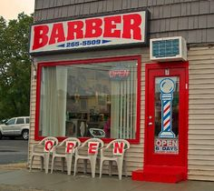 O P E N Barbershop
