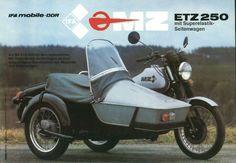 mz etz 250 motorcycle