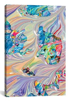 Untitled 18 by Mark Lovejoy Graphic Art on Wrapped Canvas