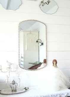 •●◇●•  Vintage, Mosaik Spiegel  •●◇●• von Weidenröschen auf DaWanda.com