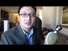 CES 2016 The Long Awaited HiFiMAN Shangri La Electrostatic Headphone - YouTube