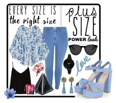 """Power Look"" by erliza on Polyvore featuring River Island, Melissa McCarthy Seven7, Raey, McQ by Alexander McQueen, Smoke x Mirrors, Movado, Dorothy Perkins, Dsquared2, Estée Lauder and plus size clothing"