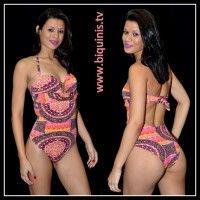 Maiô Sweet Lady com bojo Ref.12106 Tamanhos M e GG.