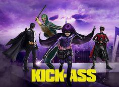 """""""KICK ASS""""(キックアス)普通のアメコミヒーローっぽくなくて良い。ヒット・ガール最強。"""
