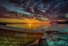Photograph The Boat by Robert Alexandersen on Places Around The World, Around The Worlds, Cool Photos, Amazing Photos, Amazing Places, Norway, The Good Place, Eye Candy, Sunrise