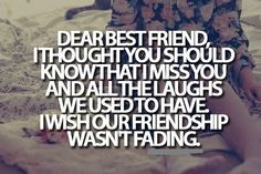 best friends quotes, best friendship quotes, quotes for best friend, best friend quotes and sayings My Best Friend Quotes, Miss My Best Friend, Bff Quotes, True Quotes, Quotes To Live By, Qoutes, Dear Friend, Broken Friendship Quotes, Quotes About Friendship Changing