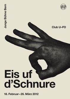 Posters / Young stage Bern: B & R Graphic Design