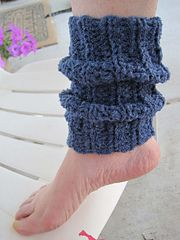 Ravelry: Heat Wave Ankle Warmers pattern by Kathy North