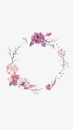 Flower Border, Flower Clipart, Round Border, Watercolor Flowers PNG Image and Cl… – Kochen Flower Backgrounds, Flower Wallpaper, Iphone Wallpaper, Floral Wallpapers, Phone Backgrounds, Mobile Wallpaper, Wallpaper Quotes, Story Instagram, Instagram Logo