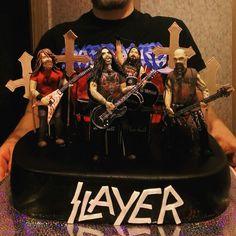 SlayerExodus Cake Rock Candy Cakes Candy Cakes And Cake - Slayer birthday cake