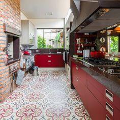 Cocinas eclécticas de Camila Tannous Arquitetura & Interiores