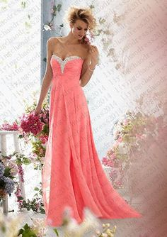 Chiffon Formal Evening Dresses Short Bridesmaid Dress Party Prom Dance Gown AUD Perfect wedding dresses, prom dress, party dresses, evening dresses for your special occasions. 2 chiffon layers dress, top chiffon layer and 1 satin lining. Chiffon Evening Dresses, Chiffon Dress, Evening Gowns, Strapless Dress Formal, Formal Dresses, Formal Prom, Formal Wedding, Beaded Chiffon, Boho Wedding