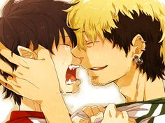 I'm not a big fan of yaoi but i gotta say this is my FAVORITE couple! (Atleast from blue exorcist)