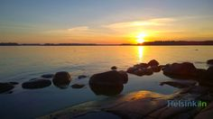 These are the brightest nights of the year in Helsinki(late May). Around this time of the year it doesn't really get dark at all and you can watch wonderful late and very slow sunsets.