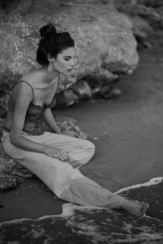 Jolie Zocchi fashion editorial photographer,  storyteller  Barcelona beach photoshoot