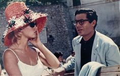 I can watch Marcello Mastroianni films all day long.  It just reminds me of gorgeous Italy, and to know that you can go back and feel the history thru the sun.