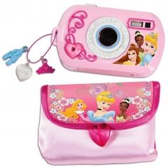 These Disney Cameras will allow your little princess to become the world greatest photographer, or at least get some pictures on the fridge.    Little...