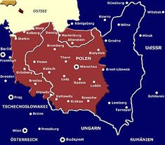 What you always wanted to know . 4 (note contribution) - In 1945 Poland was & west& 1945 Poland & westward& - Poland Map, Germany Poland, Danzig, Poland History, Prussia, Historical Maps, History Museum, Family History, Europe