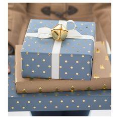 Sugar Paper® Metal Jingle Bells Gift Topper Set : Target