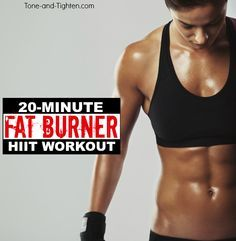 quick fat burner workout at home