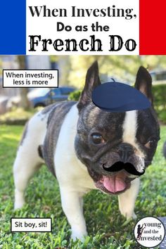 When investing money, doing less is more. Learn how the French laissez faire method applies to investing money to reach financial independence.