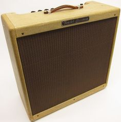 1957 Fender Bassman, the amp that inspired Jim Marshall to build his amps.