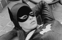Batgirl having a rest.