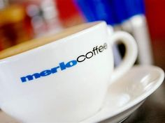 Great Coffee from Merlo at Delibean Cafe each morning