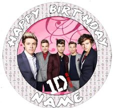 One direction 1d10 Cake Topper edible sugar icing 7.5 inch - Personalised edible icing cake topper. Printed with food safe inks on edible icing (not rice paper) makes for a better quality finish and tastes so mu better. Design lifts off of backing sheet and can be placed onto home made or shop bought cakes. Please see above ordering instructions to order.... - http://irishcakesupplies.com/wp-content/uploads/2013/12/5171Z0qqUOL.jpg - #1d10, #75, #Cake, #Direction, #EDIBLE, #Ic
