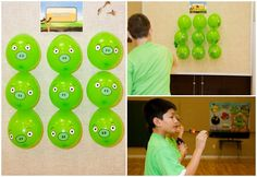 Piggie Pop And Other Angry Birds Party Games