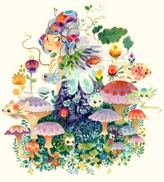 Lorena Alvarez Gómez  Fantastical Flora & Fauna - Nucleus | Art Gallery and Store