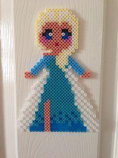 Frozen Elsa hama bead