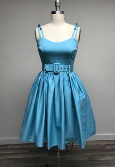 Jade Swing Dress in Robins Egg Blue