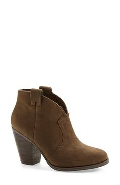 "Vince Camuto ""Hillsy"" Almond Toe Ankle Bootie"