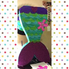 https://www.google.com/search?q=Mermaid  tail Pinata diy