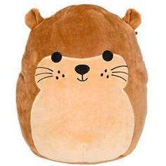 Pillow Pals, Cute Squishies, Cute Stuffed Animals, Sea Otter, Cute Plush, Fidget Toys, Plush Dolls, Doll Toys, Animal Pillows