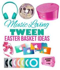 Really cool presents for 12 year old girls speakers water and girls easter basket ideas for tween girls ebay negle Choice Image