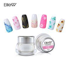 Elite99 12 Diversi Colori 3D Nail Art Vernice Gel di Colore Disegnare la Pittura Colore acrilico UV Gel Tip Nail Art FAI DA TE Scegliere Qualsiasi 1 Colori
