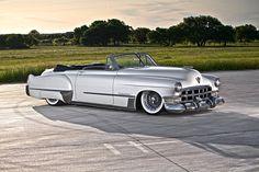 Very nice mild custom late '40's or early '50's Cadillac...